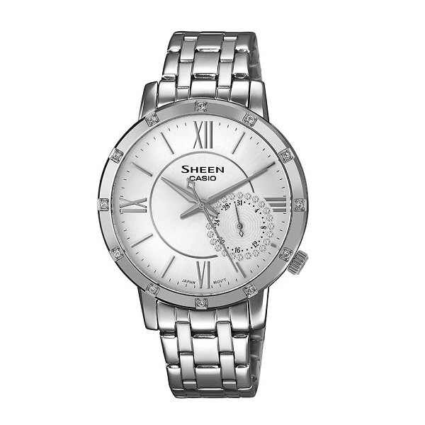 Đồng Hồ Nữ Casio Sheen SHE-3046DP-7AUDR