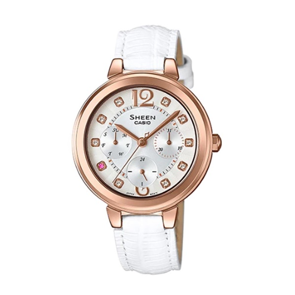 Đồng Hồ Nữ Casio Sheen SHE-3048PGL-7AUDR