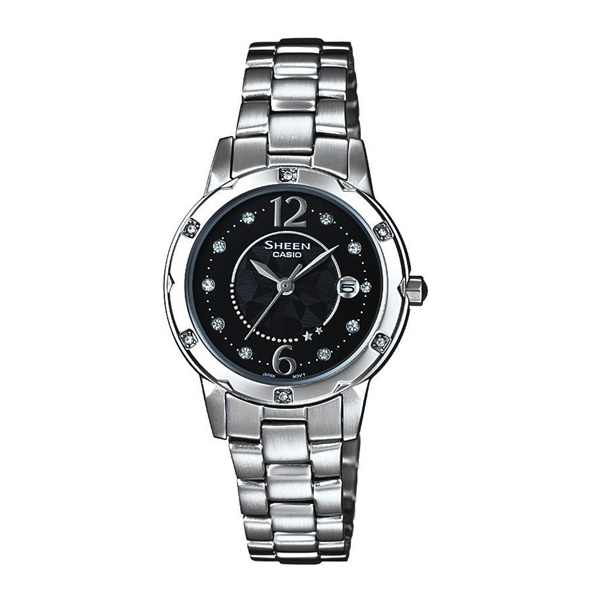 Đồng Hồ Nữ Casio Sheen SHE-4021D-1ADF